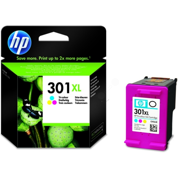 Original HP CH564EE / 301XL Tête d'impression couleur