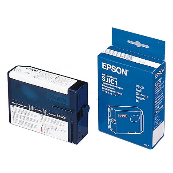 Original Epson C33S020175 / SJIC1 Tintenpatrone schwarz