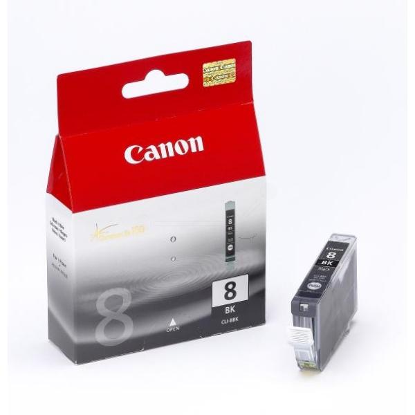 Oryginalny Canon 0620B001 / CLI8BK Wklad atramentowy czarny