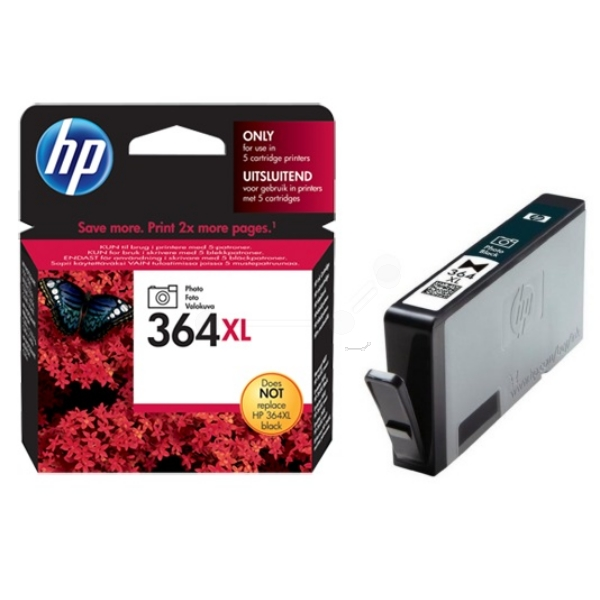 Original HP CB322EE / 364XL Ink cartridge black