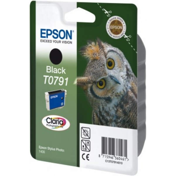 Original Epson C13T07914010 / T0791 Ink cartridge black