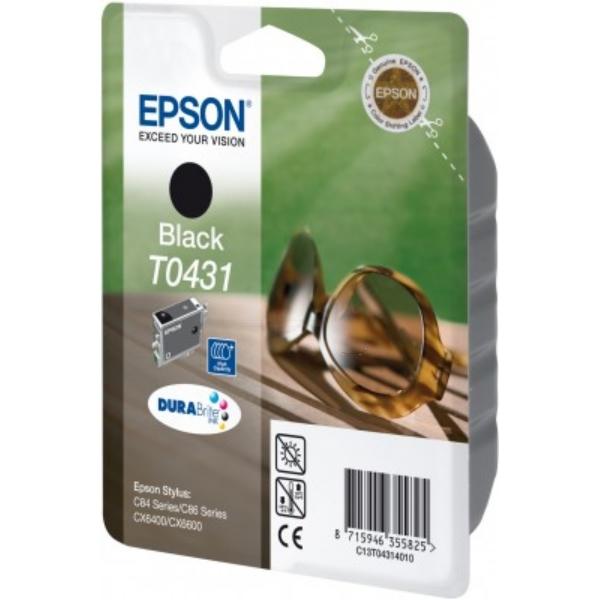 Original Epson C13T04314010 / T0431 Tintenpatrone schwarz