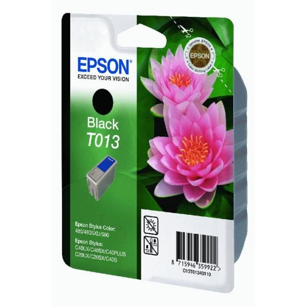 Original Epson C13T01340110 / T013 Tintenpatrone schwarz