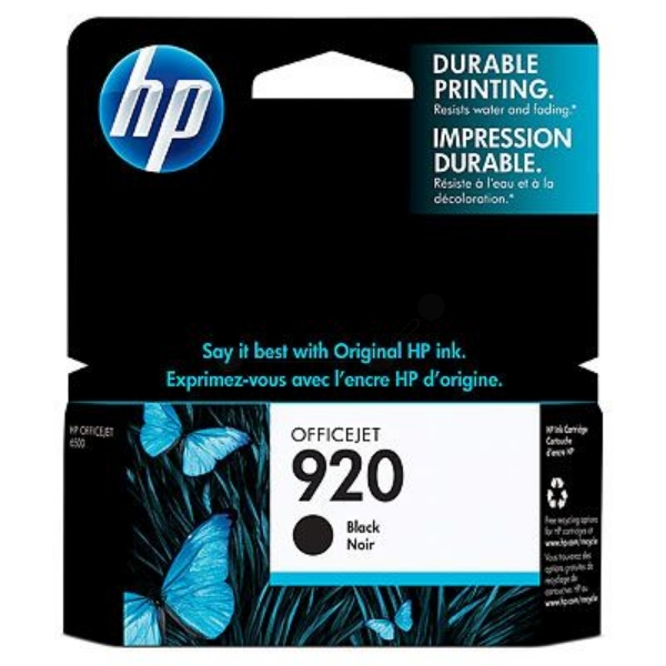 Original HP CD971AE / 920 Ink cartridge black