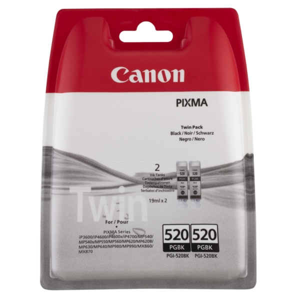 Original Canon 2932B012 / 520PGBK Ink cartridge black