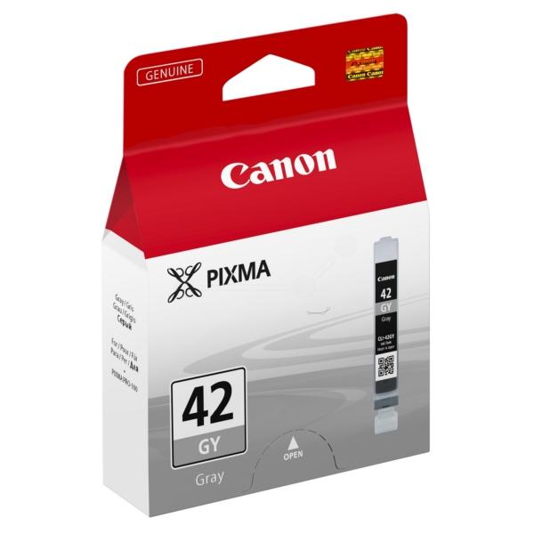 Original Canon 6390B001 / CLI42GY Tintenpatrone grau