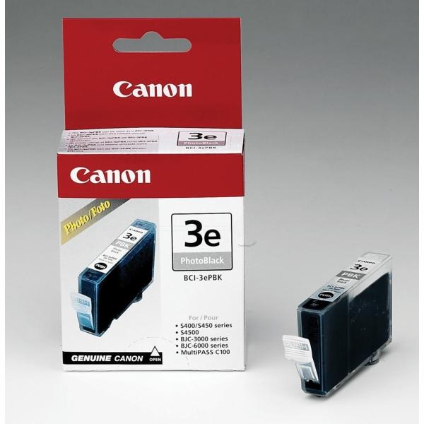 Original Canon 4485A002 / BCI3EPBK Tintenpatrone schwarz hell