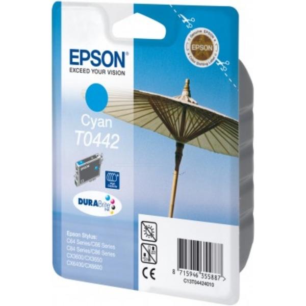 Original Epson C13T04424010 / T0442 Tintenpatrone cyan