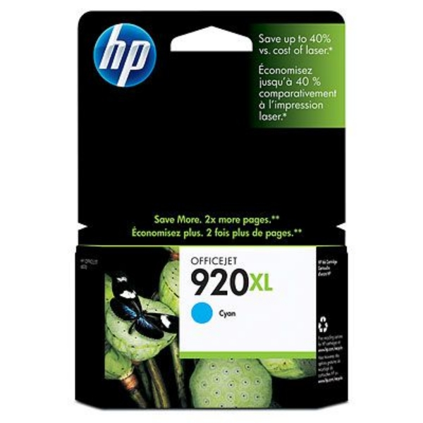 Original HP CD972AE / 920XL Ink cartridge cyan