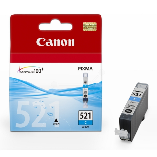 Original Canon 2934B001 / 521C Ink cartridge cyan
