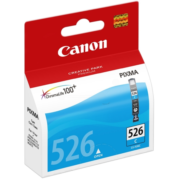 Original Canon 4541B001 / CLI526C Tintenpatrone cyan