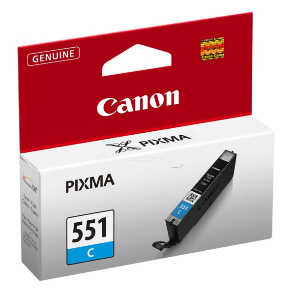 Original Canon 6509B001 / 551C Ink cartridge cyan