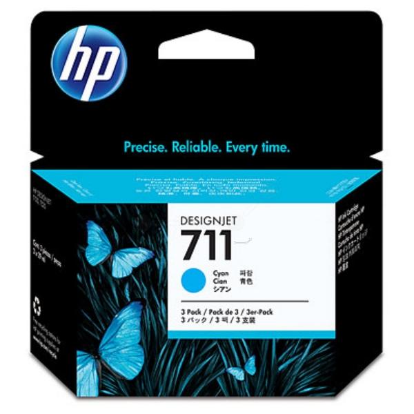Original HP CZ130A / 711 Tintenpatrone cyan