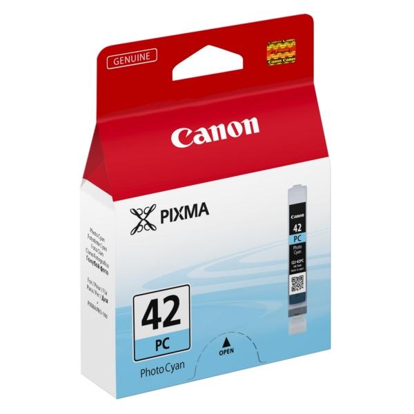 Original Canon 6388B001 / CLI42PC Tintenpatrone cyan hell