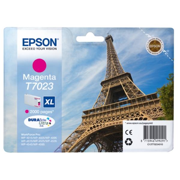 Original Epson C13T70234010 / T7023 Tintenpatrone magenta