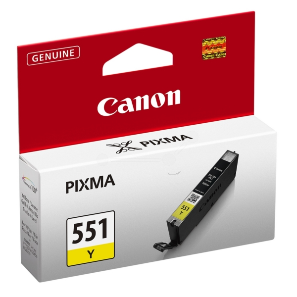 Original Canon 6511B001 / 551Y Ink cartridge yellow