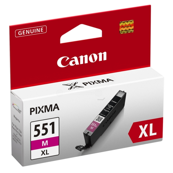Original Canon 6445B001 / CLI551MXL Ink cartridge magenta