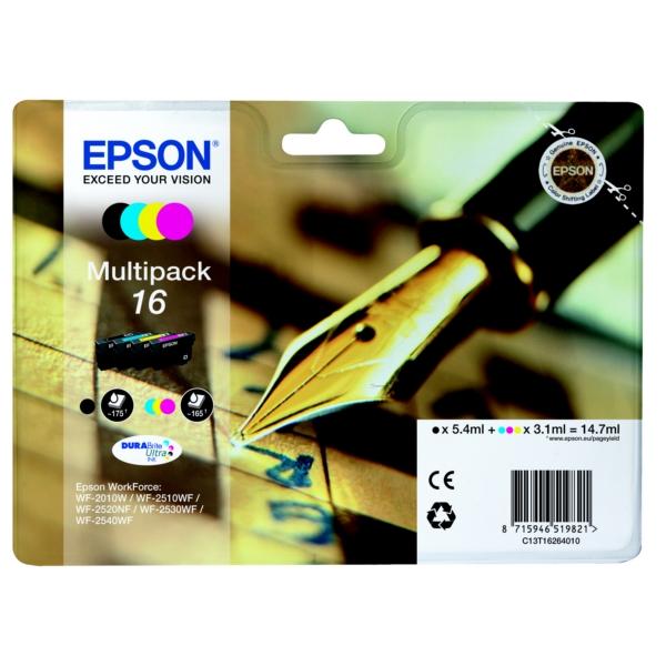 Original Epson C13T16264010 / 16 Tintenpatrone MultiPack