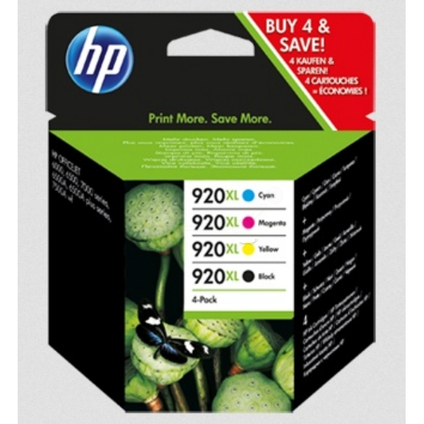 Original HP C2N92AE / 920XL Ink cartridge multi pack