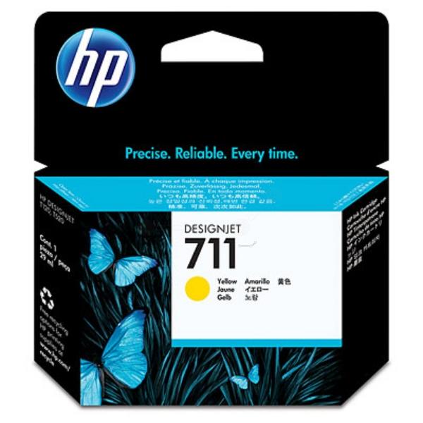 Original HP CZ136A / 711 Tintenpatrone gelb