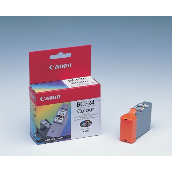 Original Canon 6882A002 / BCI24C Tintenpatrone color