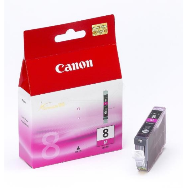 Original Canon 0622B001 / CLI8M Ink cartridge magenta