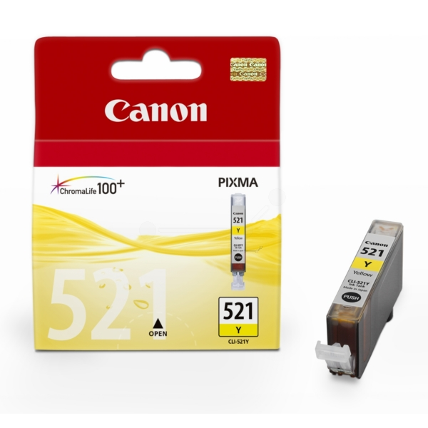 Original Canon 2936B001 / 521Y Ink cartridge yellow