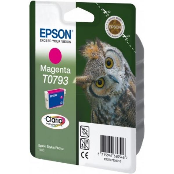 Original Epson C13T07934010 / T0793 Tintenpatrone magenta