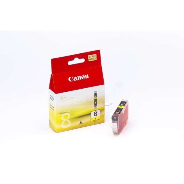 Original Canon 0623B001 / CLI8Y Tintenpatrone gelb