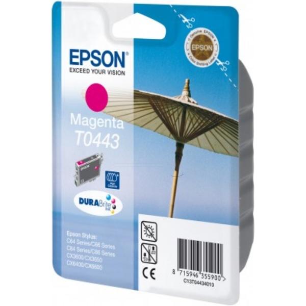 Original Epson C13T04434010 / T0443 Tintenpatrone magenta