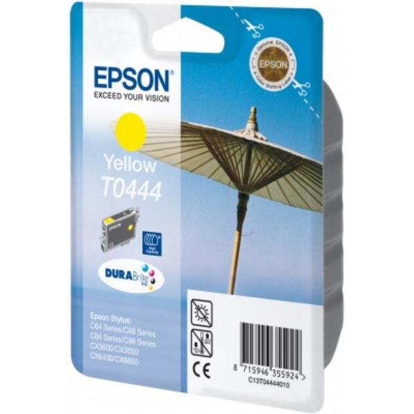 Original Epson C13T04444010 / T0444 Tintenpatrone gelb