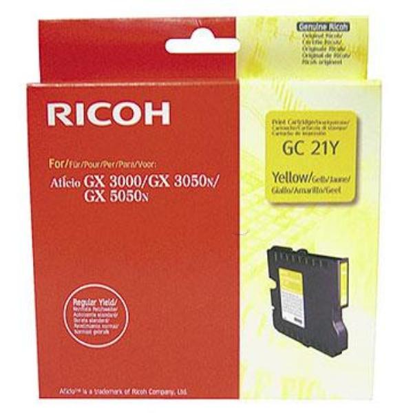 Original Ricoh 405535 / GC21Y Tinte Sonstige