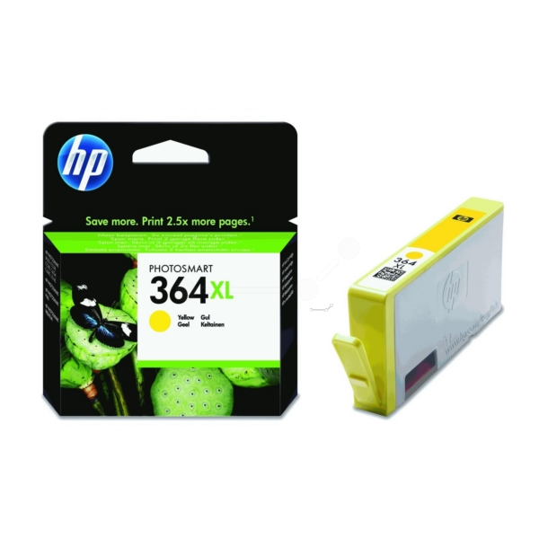Original HP CB325EE / 364XL Ink cartridge yellow