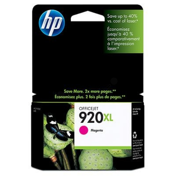 Original HP CD973AE / 920XL Ink cartridge magenta