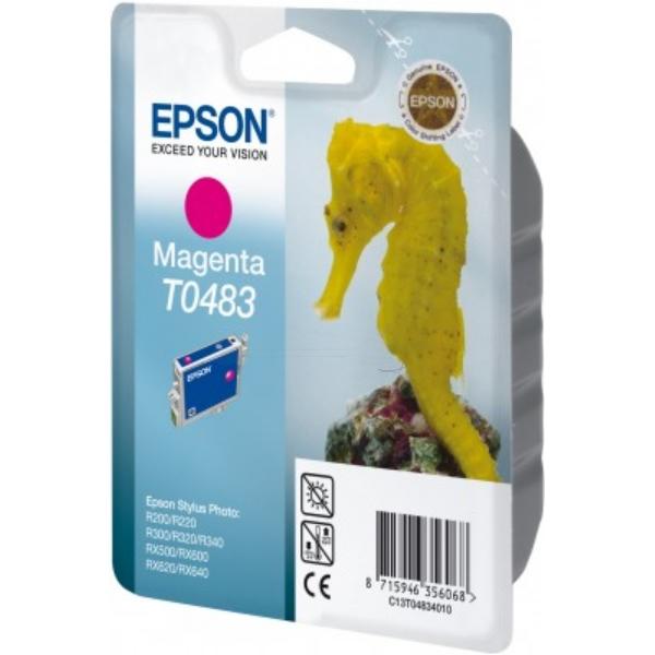 Original Epson C13T04834010 / T0483 Tintenpatrone magenta