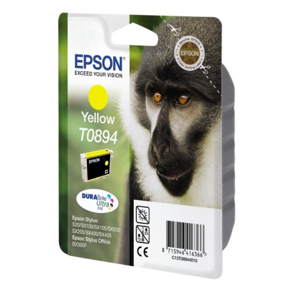 Original Epson C13T08944011 / T0894 Ink cartridge yellow