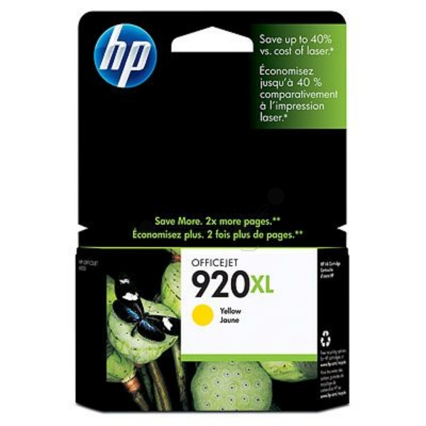 Original HP CD974AE / 920XL Ink cartridge yellow
