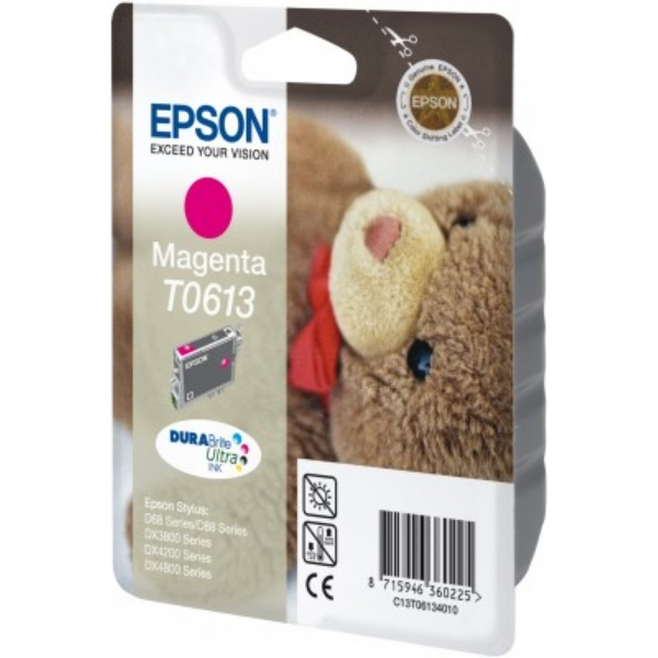 Original Epson C13T06134010 / T0613 Ink cartridge magenta