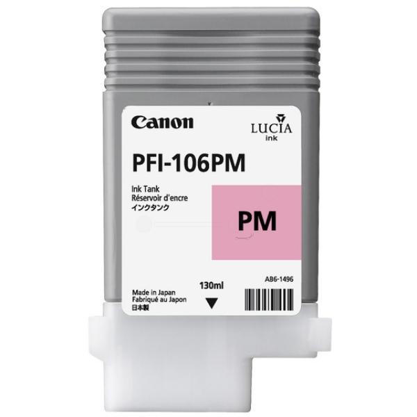 Original Canon 6626B001 / PFI106PM Tintenpatrone magenta hell