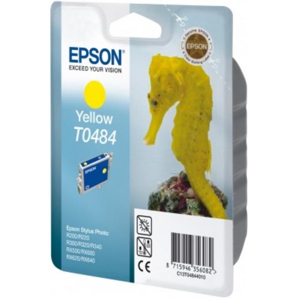 Original Epson C13T04844010 / T0484 Tintenpatrone gelb