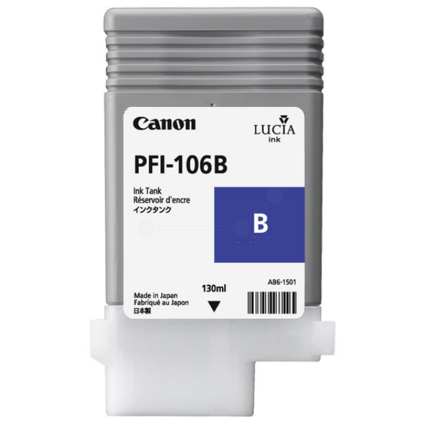 Original Canon 6629B001 / PFI106B Tintenpatrone blau