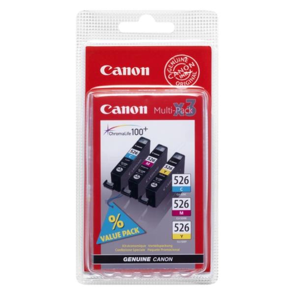 Oryginalny Canon 4541B009 / CLI526 Wielopak wkladów atramentowych