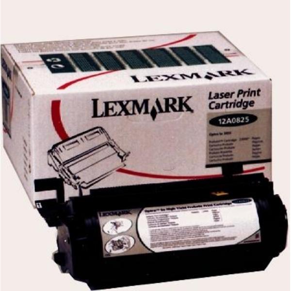 Original Lexmark 12A0825 Toner schwarz