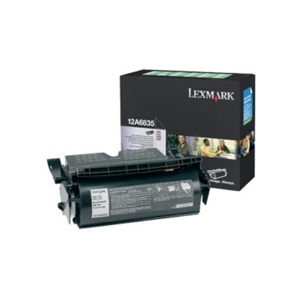 Original Lexmark 12A6835 Toner schwarz