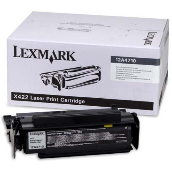 Original Lexmark 12A4710 Toner schwarz