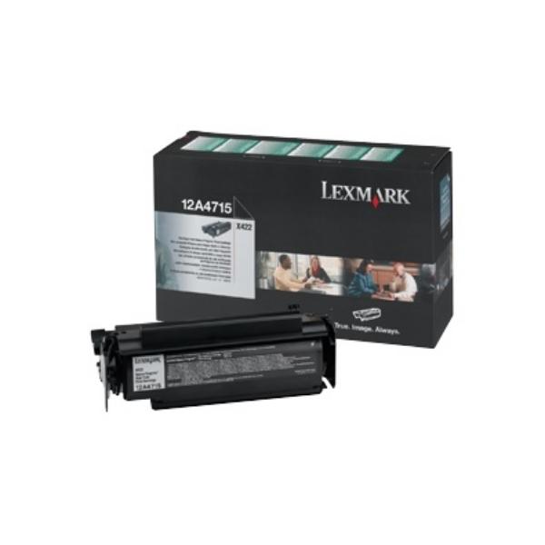 Original Lexmark 12A4715 Toner schwarz