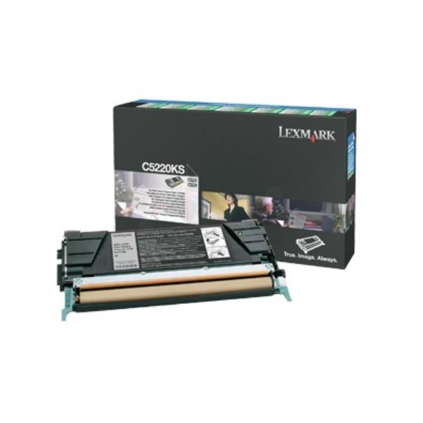 Original Lexmark C5220KS Toner schwarz