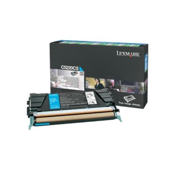 Original Lexmark C5220CS Toner cyan