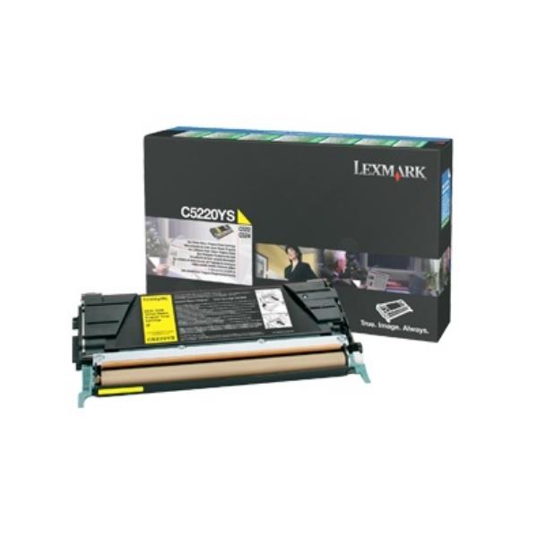 Original Lexmark C5220YS Toner gelb