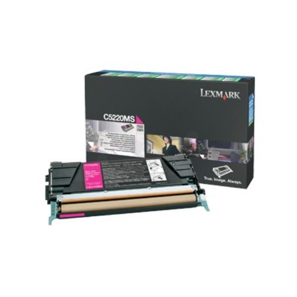 Original Lexmark C5220MS Toner magenta